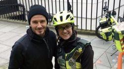 데이비드 베컴의 친절이 런던의 겨울을