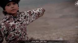 IS가 참수 영상에 4세 아이를