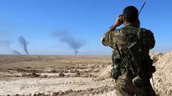 시리아 쿠르드 민병대, IS 점령지로