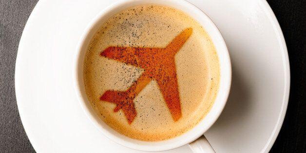 비행기에서 마시는 커피가 끔찍한