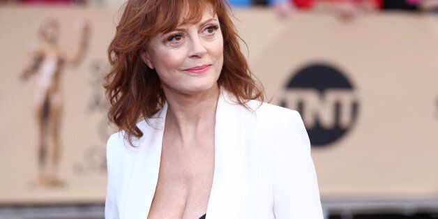 Susan Sarandon arrives at the 22nd annual Screen Actors Guild Awards at the Shrine Auditorium & Expo...