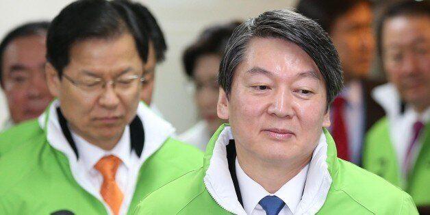 국민의당 선대위 출범 지연, 안·천·김 '내부 권력싸움'