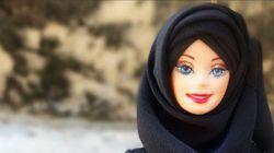 바비인형은 끊임없이 변화한다. 이번에는 히잡을 쓴