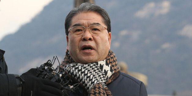 이재정 경기교육감, 다시 한 번 '청와대 앞 1인 시위'