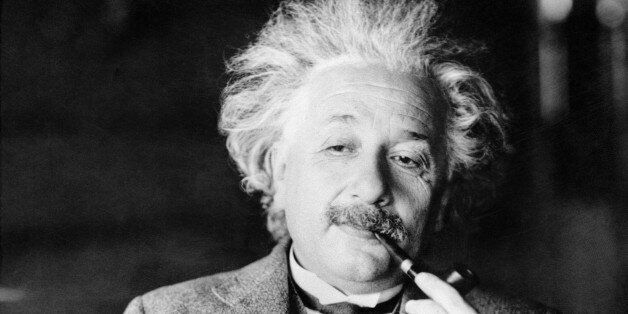 This undated file photo shows famed physicist Albert Einstein. Scientists at the European Organization...
