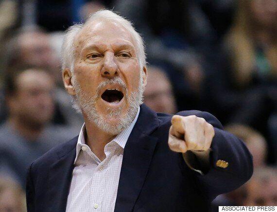 스포티비가 끌어올린 NBA '상남자' 포포비치 감독의 감동적