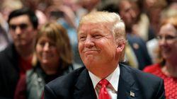 트럼프가 2위 소감으로 사람들을 놀라게