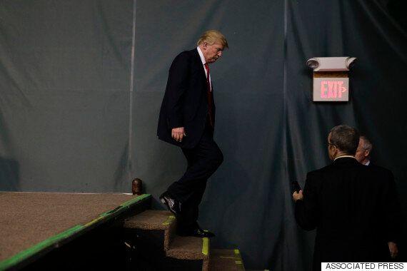 트럼프가 의외로 겸손한 2위 소감으로 사람들을 놀라게