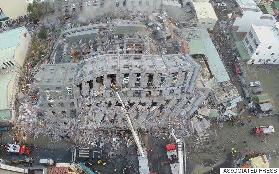 [대만지진] '두부빌딩' 건설업자가