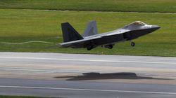 F-22 스텔스 전투기가 오늘 한반도를