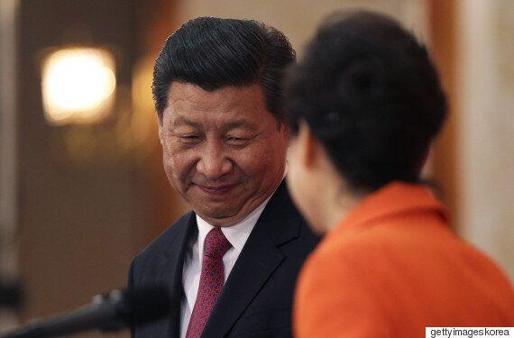 박근혜 대통령이 시진핑 주석에게 '크게' 실망한