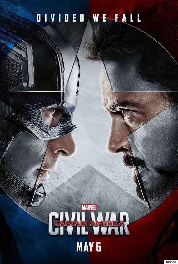 '캡틴 아메리카 : 시빌워'의 새로운