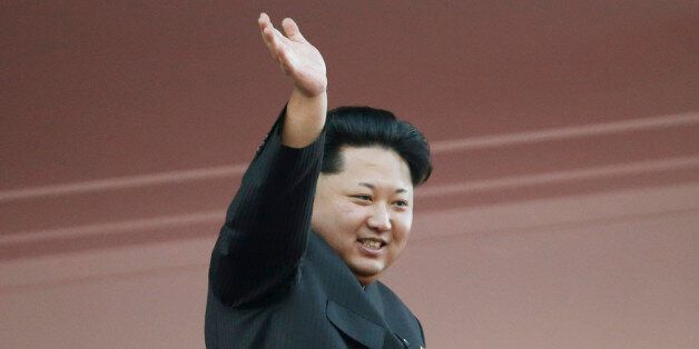 In this Oct. 10, 2015, file photo, North Korean leader Kim Jong Un waves at a parade in Pyongyang, North...