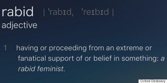 옥스퍼드 사전이 성차별 혐의로 비난받고
