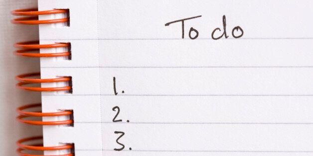 '오늘의 할 일' 목록을 만드는 당신이 잘못 하고 있는