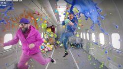 'OK GO'의 새로운 뮤직비디오, 이번에는 '무중력'이다