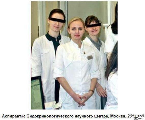 베일 속에 가려졌던 푸틴 대통령의 큰딸이