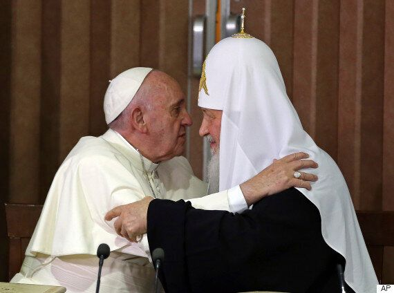 교황-러 정교회 수장이 1천년만에 처음으로