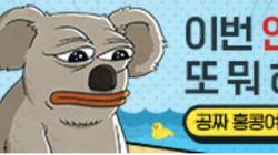 홍콩 오션파크 광고에 등장한 것은 일베 노무현 비하