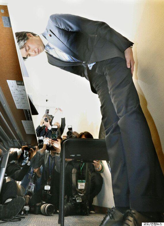 불륜의혹으로 의원직 사퇴한 일본 국회의원의