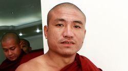 미얀마, '샤프란 혁명' 주도 승려