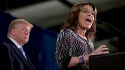 바보들의 연대 : 사라 페일린과 트럼프가 손을