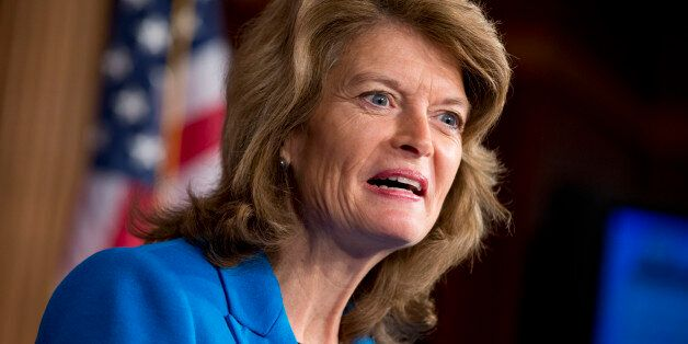 Sen. Lisa Murkowski of Alaska, the top ranking Republican on the Senate Committee on Energy and Natural...