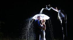웃음이 절로 나오는 최고의 결혼사진