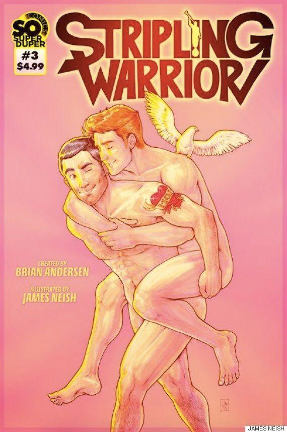 세계 최초의 게이 모르몬 슈퍼히어로가