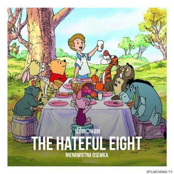 '곰돌이 푸'의 장면들로 만든 오스카 후보작 포스터(그림