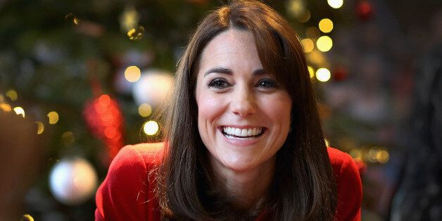 Photo by: KGC-375/STAR MAX/IPx 2015 12/15/15 Catherine The Duchess of Cambridge visits the Anna Freud...