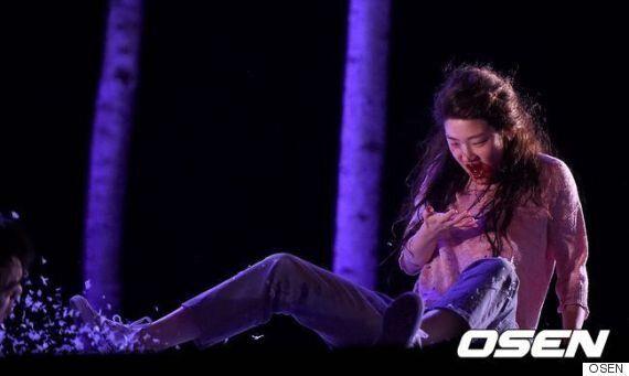 연극 '렛미인'에서 '일라이'를 연기하는 배우 박소담(사진
