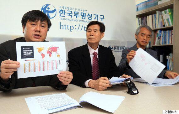 한국의 국가 청렴도, 세계에서 37위로 7년 연속