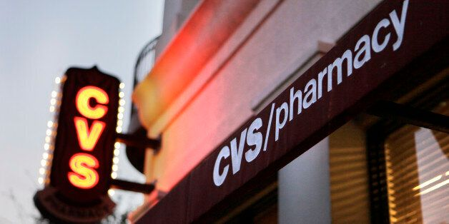 A CVS Pharmacy is seen in Orlando, Fla., Wednesday, Feb. 2, 2011. Drugstore chain and pharmacy benefits...