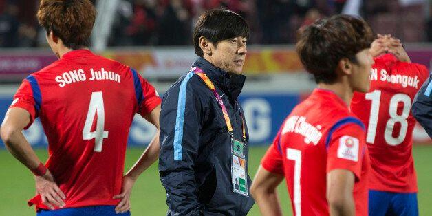 [올림픽축구] 일본에 역전패 : 신태용 감독,