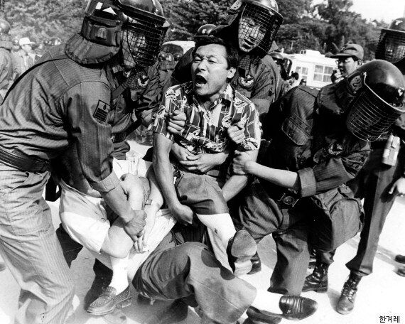 45년 만에 역사 속으로 사라진 '전투경찰'의 과거 활동 모습(사진