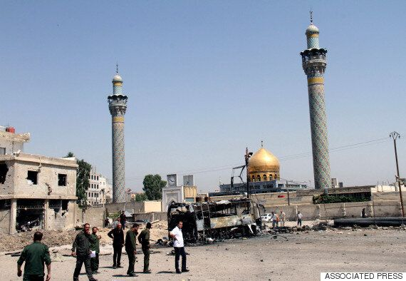 시리아 수도 다마스쿠스 시아파 성지에서 연쇄 폭탄테러 : IS 소행