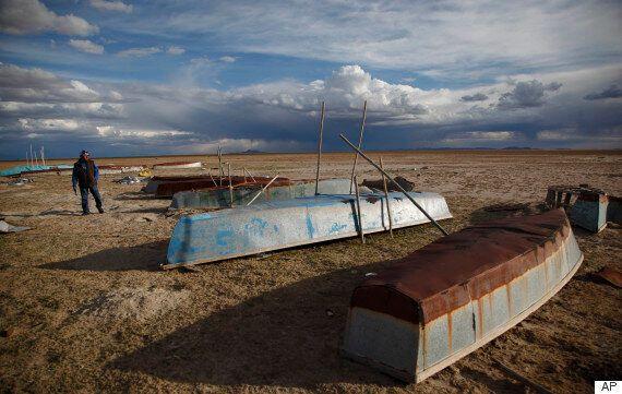 볼리비아에서 두 번째로 큰 호수가 증발해 버린 슬픈 이유(전후