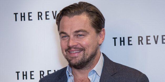 Leonardo DiCaprio poses for photographers during a photo call for the