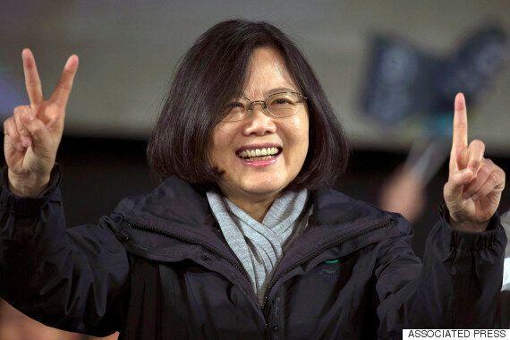 대만 차이잉원 당선에 대한 중국 언론의