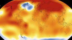 2015년은 역사상 가장 더운