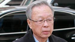 '캐디 성추행' 박희태 전 의장에 대한 항소심