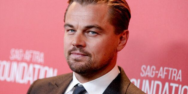 Leonardo DiCaprio arrives at SAG Foundation's 30th Anniversary Celebration at the Wallis Annenberg Center...