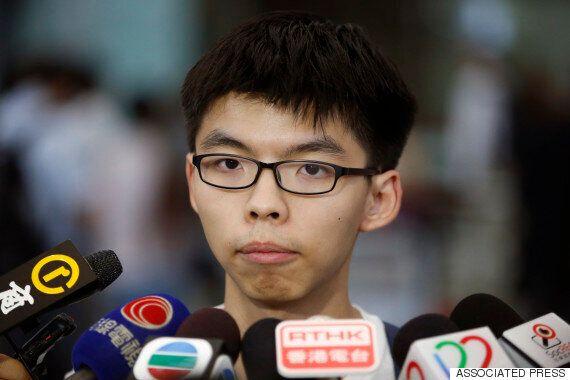 홍콩 '우산혁명' 시위대, 대만 새 정권과