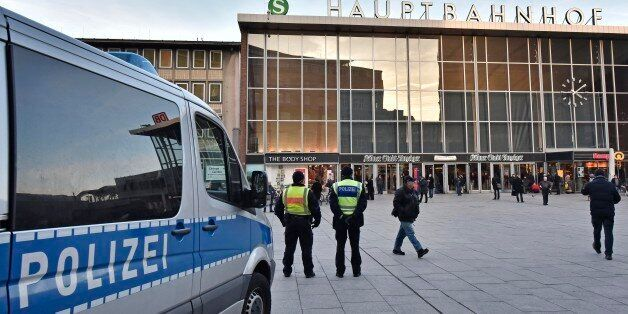 Police patrol in front of the main train station in Cologne, Germany, Monday, Jan. 18, 2016. A first...