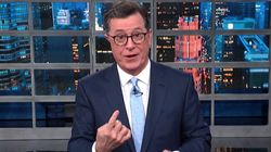 Colbert Torches Trump With A Weather Forecast For 'Where The Sun Don't