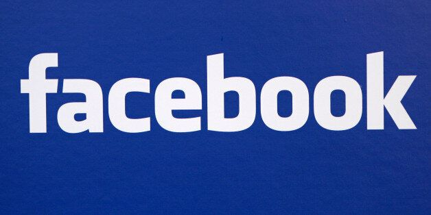 FILE - In this Nov. 6, 2007 file photo, the Facebook logo is displayed at a Facebook announcement in...