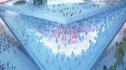 부산시가 발표한 부산 오페라하우스의 디자인(사진