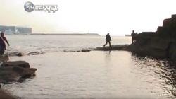 제주도가 바닷물에 잠기기