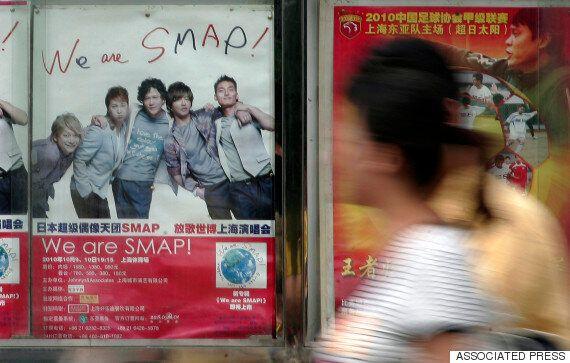 SMAP의 '세상에 하나뿐인 꽃'이 다시 오리콘 1위에
